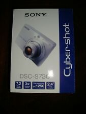 Sony Cybershot Camera, DSC-S730, in Original Box, in good shape