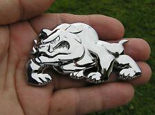 ENGLISH BULLDOG CAR BADGE Metal Emblem *HIGH QUALITY* Canterbury Bulldogs Mack