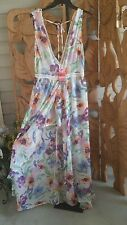 GOA BEACHWEAR BY JAPNA SWIM Beach Resort DRESS ~ SIZE L Juniors Chiffon NEW
