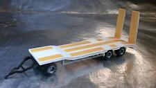 * Herpa 076135-004 Goldhofer TU 3 Construction Site Trailer, White  1:87 Scale