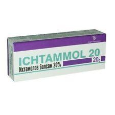 Ichthyol  Ichthammol 20% Ointment 20g – Help for Acne, Boils, Eczema, Bites Burn