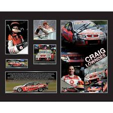 New Craig Lowndes Signed Limited Edition Memorabilia