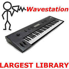 Korg Wavestation EX SR AD Legacy 10,000 Largest Sound Program Patch Library