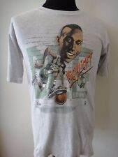 ORI VTG SALEM 1990 DEE BROWN CARICATURE CARTOON NBA BOSTON CELTICS SHIRT SIZE M