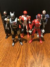Power Rangers  Figure Bandai 2005/6  5 1/2 Inch Tall Lot Of 5