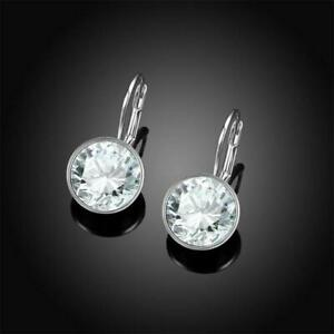 """""""Bella"""" Pierced Earrings Made With Swarovski Elements - New in Gift Box"""