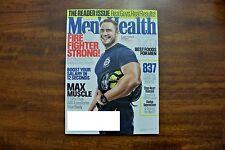 Men's Health Magazine Tim Boniface Firefighter Strong November 2015 Issue