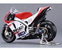 Diecast Motorcycle MAISTO DUCATI 1:18 Moto GP Race Bikes #04 Andrea Dovizioso