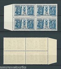 1930 YT 274 bloc de 4 - NEUFS** LUXE - EXPO INTERNATIONALE - COTE 440,00 €