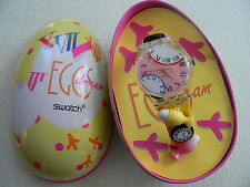 1994 Easter Special Swatch Watch Eggsdream GZ128PACK New