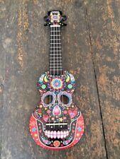 Mahalo Sugar Skull Ukulele - 2211