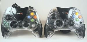 2 Original Xbox Wired Afterglow Controllers - Game Stop Brand
