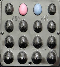 """1 1/2"""" Egg Fancy Assembly Chocolate Candy Mold Easter  892 NEW"""