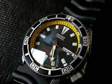 Seiko Men's SKX-CUSTOM Sport Diver Watch with Dome Sapphire Crystal &Rally Bezel