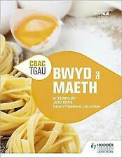 CBAC TGA  Bwyd a Maeth (WJEC GCSE Food and Nutrition Welsh-language edition) by Jacqui Keepin, Helen Buckland (Paperback, 2017)