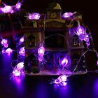 Halloween Led Spider String Lights Party Home Garden Window Decor Fairy Lights