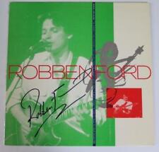 """ROBBEN FORD Signed Autograph """"Talk To Your Daughter"""" Album Vinyl Record LP"""