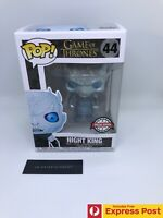 GAME OF THRONES GoT NIGHT KING (METALLIC) FUNKO POP! VINYL FIGURE #44 - NEW BOX