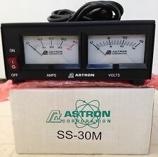 ASTRON POWER SUPPLY SS-30M. 13.8VDC 30A. BRAND NEW WITH WARRANTY