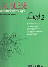 AUSLESE Elektronische orgel- Lied 2