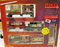 PIKO 37122 - Spur G - Start-Set Weihnachten SOUND + DAMPF- Gartenbahn NEU in OVP