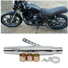 Durable Galvanized Iron Race Motorcycles Tapered Slip-On Exhaust Muffler Pipe