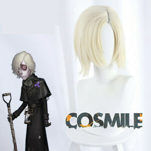 Styled Identity V Survivor Grave Keeper Andrew Cosplay Hair Wig Game ZZ