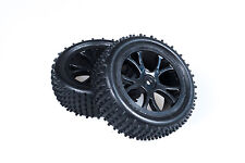 FTX Vantage Rear Buggy Tyre Mounted On Wheels (PR) Black FTX6301B