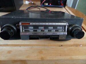 Radiomobile Vintage car radio model 70T. Working, Positive or Negative earth