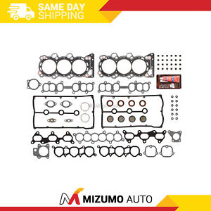 Head Gasket Set Fit 92-95 Isuzu Trooper V6 3.2 DOHC 24V 6VD1