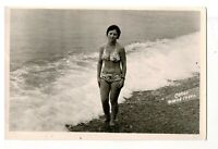 1970s nude beautiful young woman portrait people fashion Russian Vintage photo n