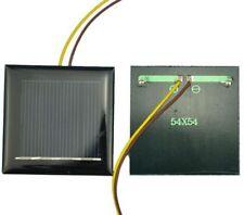 Polycrystalline Solar Panel Cell 2v 130mA 54mm x 54mm Square DIY LED Garden Ligh
