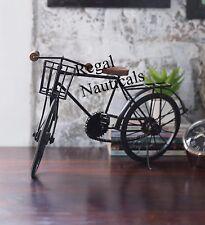 Miniature Bicycle Metal Vintage Black  Cycle Showpiece Home Decor Nautical Gift