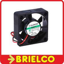 VENTILADOR TERMOPLASTICO 5VDC 0.38W 30X30X10MM 8000 ROTAC/MIN 2 CABLES BD11376