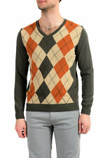 United Colors Of Benetton Men's Multi-Color Wool Pullover Sweater US S IT 48