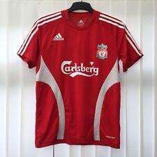 "Liverpool FC (2008) Adidas Mens Training Football Shirt Size MEDIUM 38""- 40"" RED"