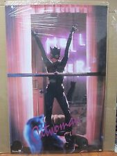 vintage 1992 original movie DC Comics poster Cat woman 12360