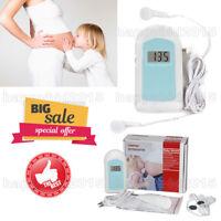 Fetal Doppler- Pregnant Monitor Baby Sound Fetus-voice meter,free gel