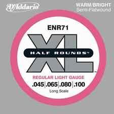 D'Addario ENR71 Xl Bs Nk Half Rnd Reg Lt40-100