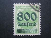 Deutsches Reich MiNr. 307 A  gestempelt   BPP GEPRÜFT  (C 560)