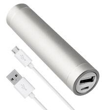 Power Bank extern Akku 2600 mAh USB Ladegerät für Lumia 535 550 830 925 930 950