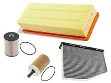 VW Jetta TDI (10-13) Air Oil Fuel Cabin Filters (4 pcs) engine diesel