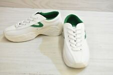 Tretorn Nylitefly Casual Sneakers, Women's Size 5, Vintage White/Green MSRP $100
