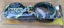 Doggles Dog Sunglasses Goggles Green Camo Frame/Smoke Lens ILS Size L UV 100%