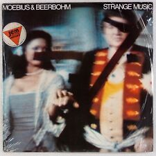 MOEBIUS & BEERBOHM: Strange Music SKY OG Experimantal Electronic Ambient LP NM