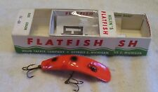 HELIN FLATFISH LURE 02/15/18POTS  NEAR MINT BOX + PAPERS  X4 OR