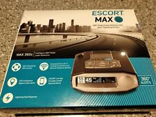 Escort MAX360C Radar Laser Detector Bluetooth Built-In WiFi Speed Camera Police