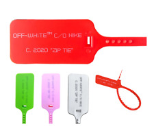 New 2020 Red Off White Zip Tie W Printed Off White Text The Ten Replacement Tie