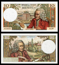 Billet France - 10F Voltaire - 10.10.63 - R 29 - SUP+ - Fay : 62.4