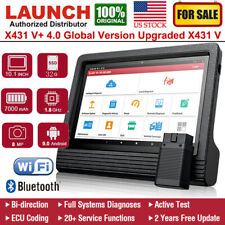 2020 LAUNCH X431 V+ 4.0 Auto Diagnostic Tool OBD2 Scanner All Systems ECU Coding